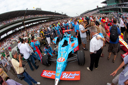 Car of John Andretti, Richard Petty / Andretti Autosport