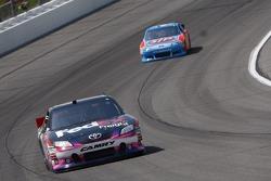 Denny Hamlin, Joe Gibbs Racing Toyota and A.J. Allmendinger, Richard Petty Motorsports Ford