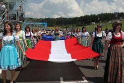 Austrian Grid Girls