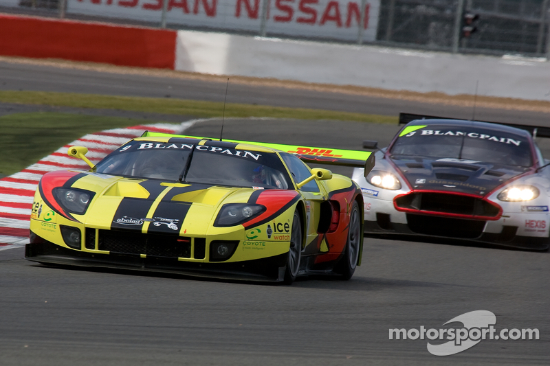 #40 Marc VDS Racing Ford GT Matech GT1: Bas Leinders, Marc Hennerici
