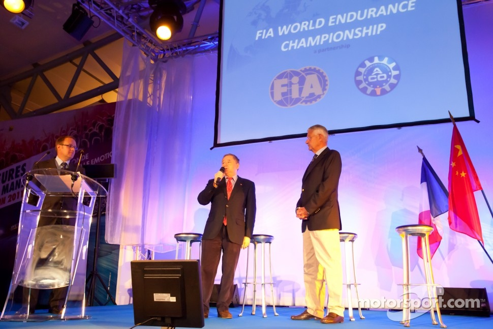 ACO press conference: FIA President Jean Todt and ACO President Jean-Claude Plassart