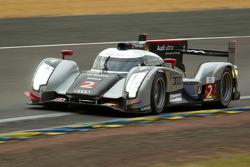 #2 Audi Sport Team Joest Audi R18 TDI: Marcel Faessler, Andre Lotterer, Benoit Treluyer