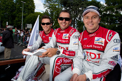 André Lotterer, Benoit Tréluyer and Marcel Fässler