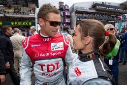 Vanina Ickx et Tom Kristensen