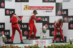 Ferrari of Houston Ferrari 458 Challenge: Cooper MacNeil, Ferrari of Ft. Lauderdale Ferrari 458 Challenge: Enzo Potolicchio, Ferrari of Houston Ferrari 458 Challenge: Mark McKenzie