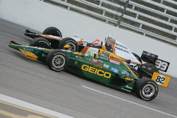 Tony Kanaan, KV Racing Technology-Lotus, Wade Cunningham, Sam Schmidt Motorsports