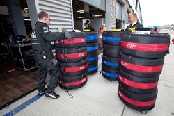 Tires ready for qualifying