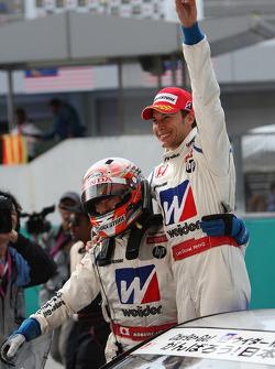 GT500 class winner: Takashi Kogure, Loic Duval