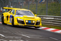 #16 Audi Sport Team Abt Sportsline Audi R8LMS: Mattias Ekström, Timo Scheider, Marco Werner, Christian Abt