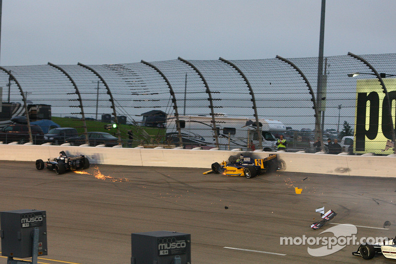 Trouble for Mike Conway, Andretti Autosport and Ana Beatriz, Dreyer & Reinbold Racing