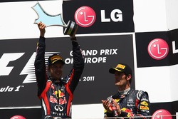 Sebastian Vettel, Red Bull Racing und Mark Webber, Red Bull Racing