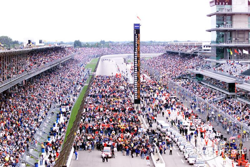 2001: Das 85. Indianapolis 500 kurz vor dem Start
