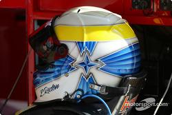 Laurent Redon's helmet