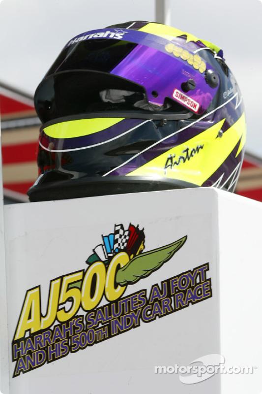 Airton Daré's helmet