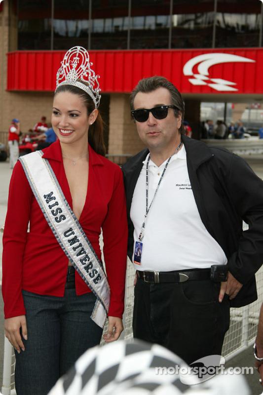 Miss Univers et Maurice Lacroix