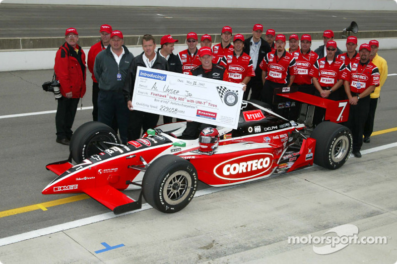 Al Unser Jr. and Kelley Racing team