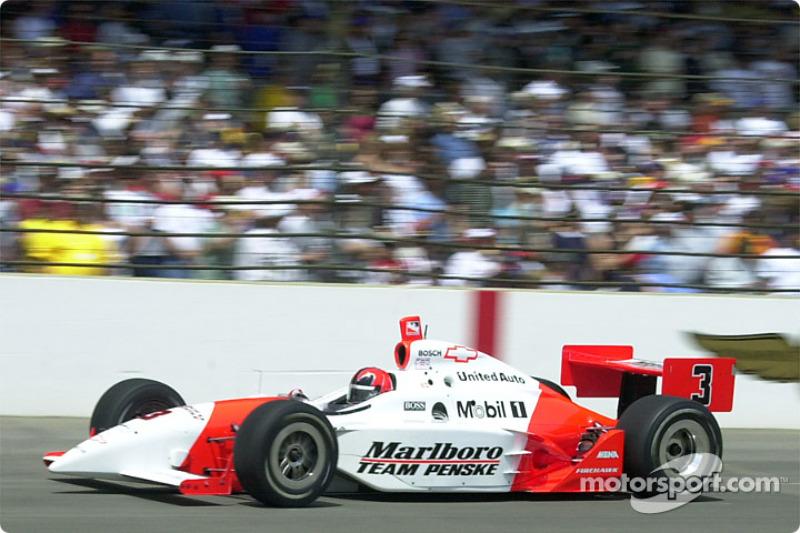 2002 - Helio Castroneves, Dallara/Chevrolet