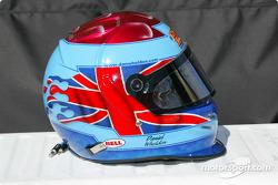 Dan Wheldon's helmet