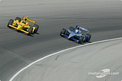 Dan Wheldon and Raul Boesel