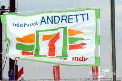 Michael Andretti banner