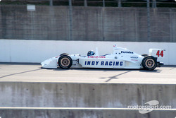 Jeret Schroeder drives the Indy Racing 2 seater