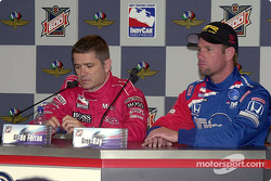 Press conference: Gil de Ferran and Greg Ray