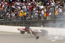 Dan Wheldon's crash