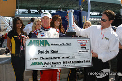 Pole winner Buddy Rice