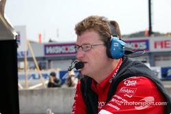 Chip Ganassi Racing Team crew member
