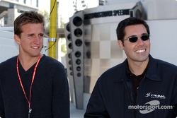 A.J. Foyt IV and uncle Larry