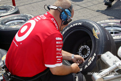 Ganassi Racing team member
