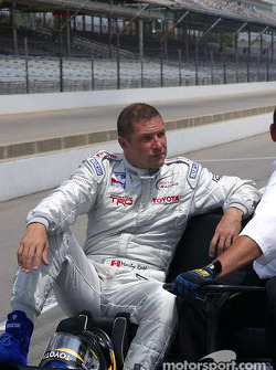 Marty Roth waits to practice
