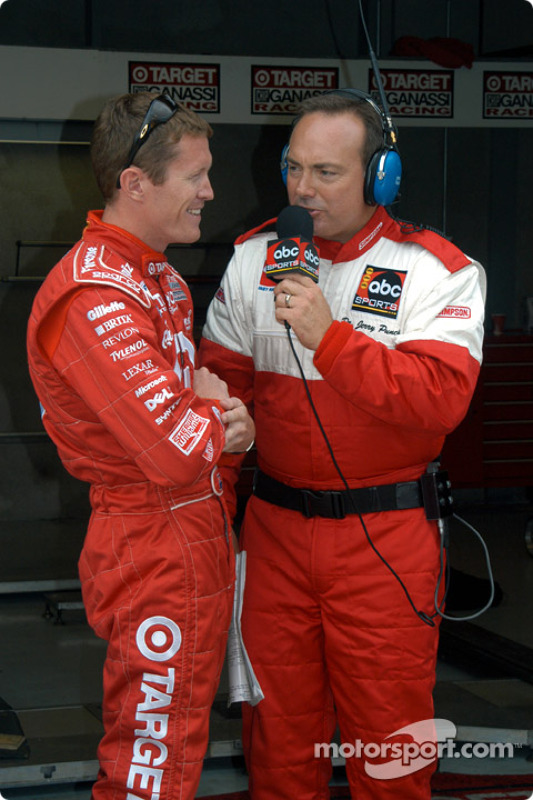 Scott Dixon et Jerry Punch