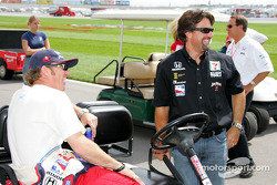Buddy Rice and Michael Andretti