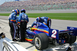 Townsend Bell in the pit