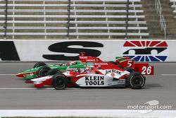 Dan Wheldon and Adrian Fernandez