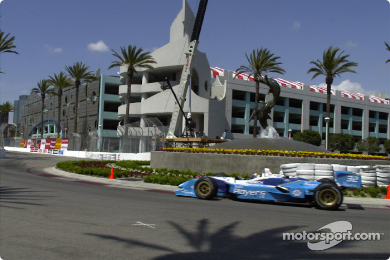 Patrick Carpentier by fountain
