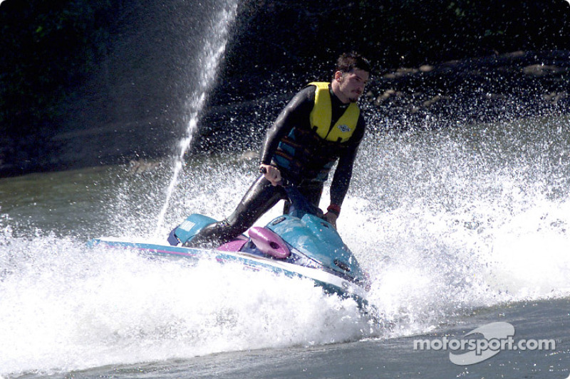 Columbia River Gorge: Patrick Carpentier on a jetski