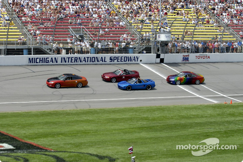 Pace cars parade