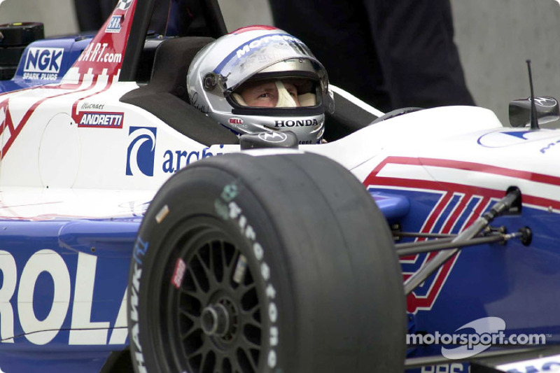 Anreise am Tag vor dem Rennen: Michael Andretti