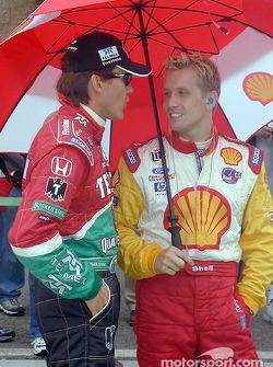 Adrian Fernandez and Kenny Brack