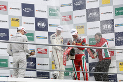 Podium: 1. Lance Stroll, Prema Powerteam Dallara F312 - Mercedes-Benz; 2. Maximilian Günther, Prema Powerteam Dallara F312 - Mercedes-Benz; 3. Nick Cassidy, Prema Powerteam Dallara F312 - Mercedes-Benz