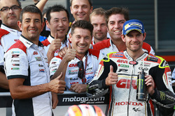 Lucio Cecchinello, team principal Team LCR Honda, Cal Crutchlow, Team LCR Honda
