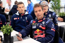 Sébastien Loeb, Team Peugeot Hansen, Timmy Hansen, Team Peugeot Hansen y Kevin Hansen, Peugeot Hansen Academy
