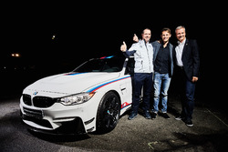 Marco Wittmann und der BMW M4 DTM Champion Edition