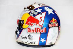 Daniel Ricciardo, Red Bull Racing RB12 ve Evel Knievel temalı kaskı