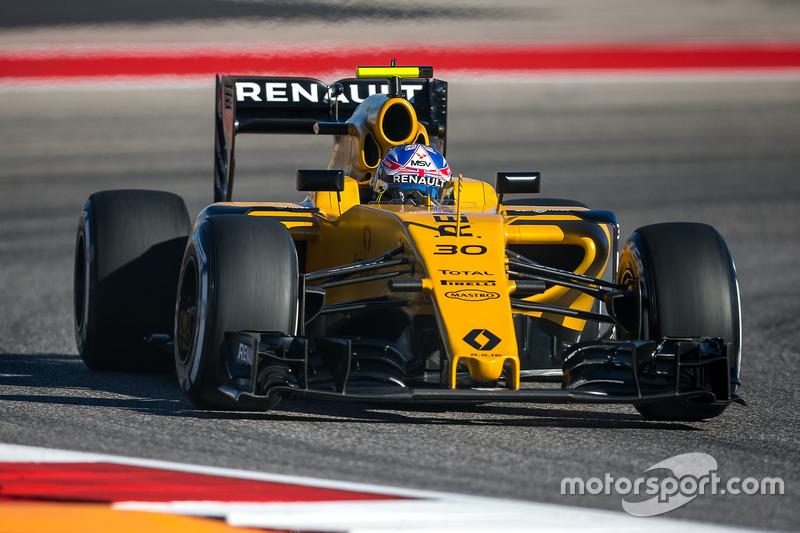15. Jolyon Palmer, Renault Sport F1 Team RS16