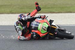 Stefan Bradl, Aprilia Racing Team Gresini, Crash