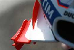 Les ailerons Ducati