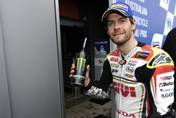 Second place qualifying for  Cal Crutchlow, Team LCR Honda